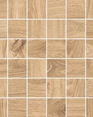 Mozaika drewnopodobnaNovabell Artwood mosaico Honey 5x5 cm