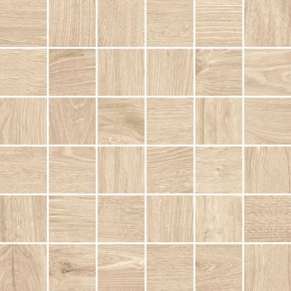 Mozaika drewnopodobna Novabell Artwood mosaico Maple 5x5 cm