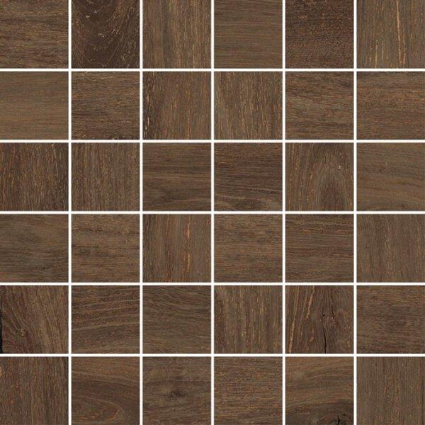 Mozaika drewnopodobnaNovabell Artwood mosaico Wenge 5x5 cm