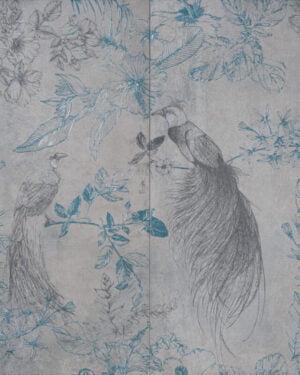 Płytka dekoracyjna Serenissima Showall W13 Fenice NAT. RTT 120x120 cm