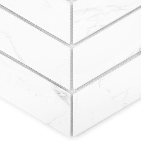 płytka ścienna Dunin Royal Chevron Carrara Matt