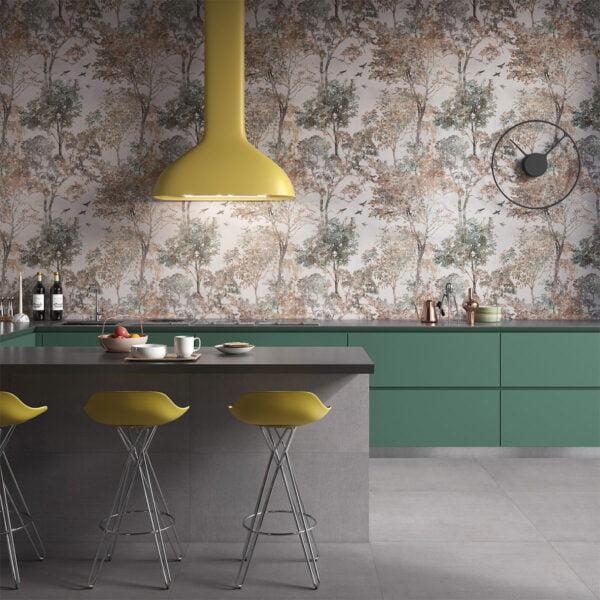 Płytka dekoracyjna Serenissima Showall W14 Forest NAT. RTT 120x120 cm