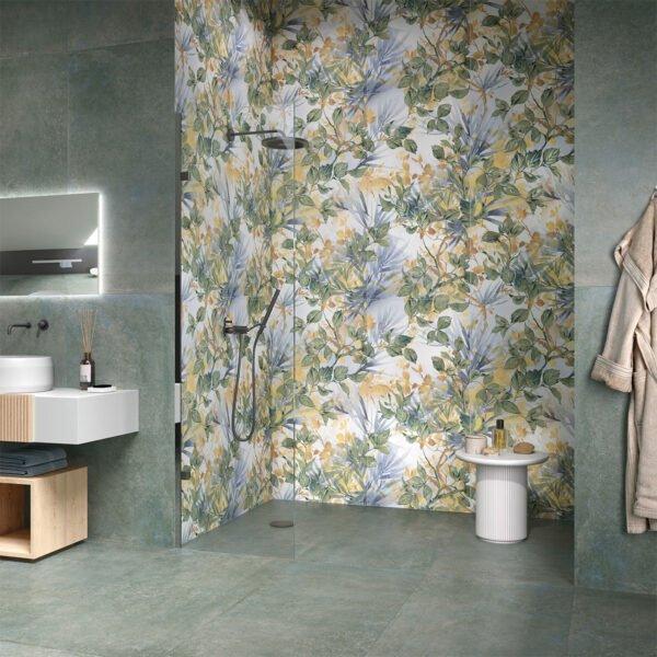 Płytka dekoracyjna Serenissima Showall W08 Garden NAT. RTT 120x120 cm