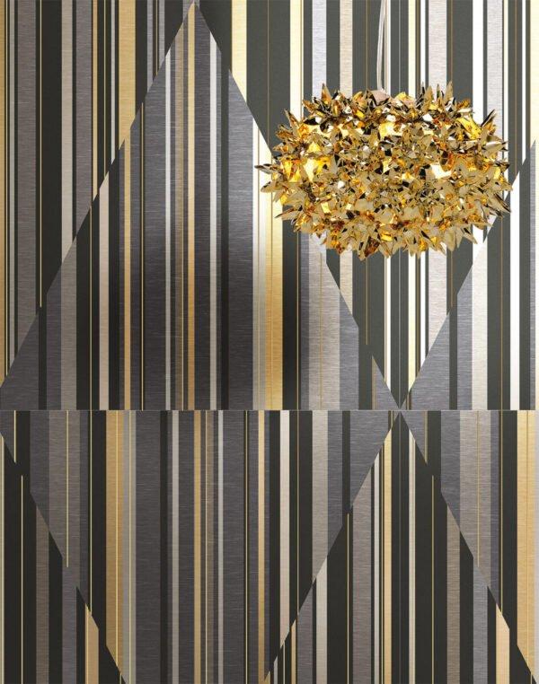 Płytka dekoracyjna Serenissima Showall W04 Hypnotic NAT. RTT 120x120 cm