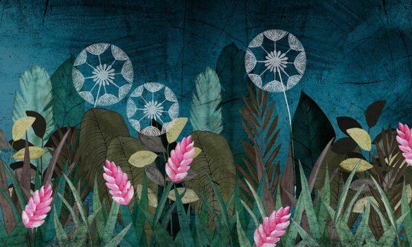 Tapeta Mural SkinWall Blue Valentine Wallpaper 96