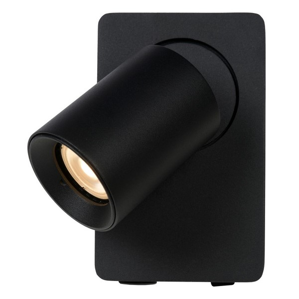 Lucide lampa ścienna z ładowarką USB Nigel 09929-06-30