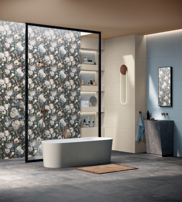 Tapeta ceramiczna ścienna ABK Wide&Style Mini Romantic Rtt. 60x120 cm