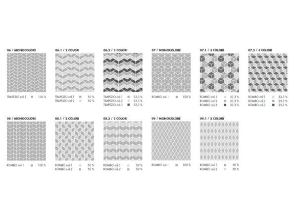 ABK Sensi Wide Trapez - sposoby układania