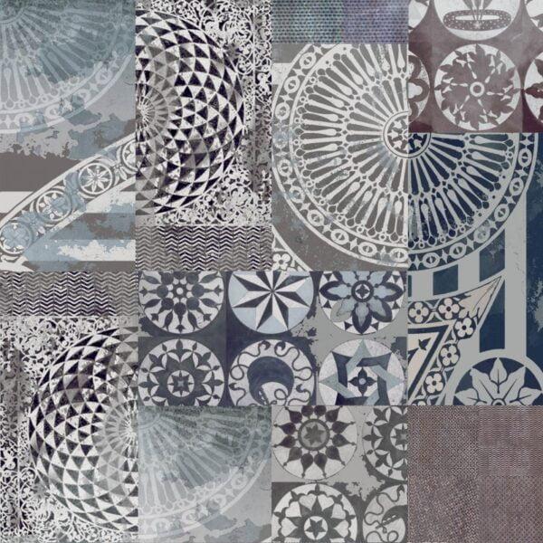 Tapeta Ceramiczna ABK Wide & Style Pop Progetto Patchwork Rtt. 60x120 cm