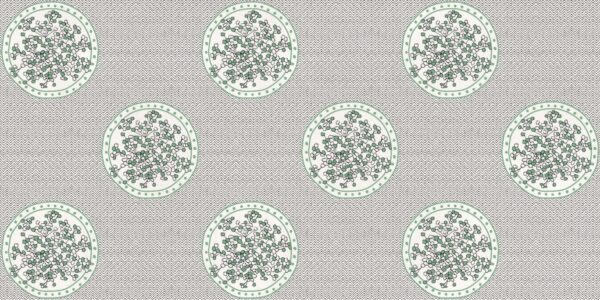 Tapeta Ceramiczna ABK Wide & Style Non Ti Scordar Di Me Salvia Rtt. 60x120 cm