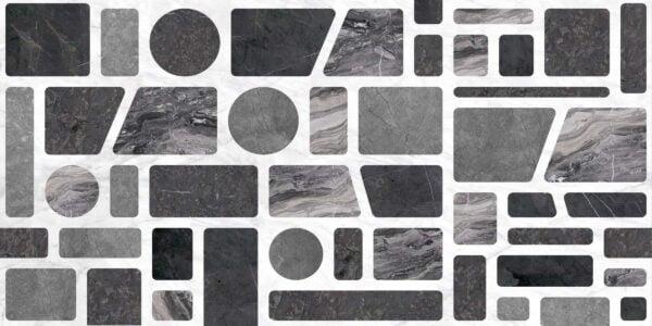 Tapeta Ceramiczna ABK Wide & Style Pop Incertum Dark Rtt. 60x120 cm