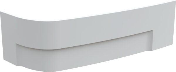 Vayer panel do wanny asymetrycznej Boomerang L/P 150x90 cm biały
