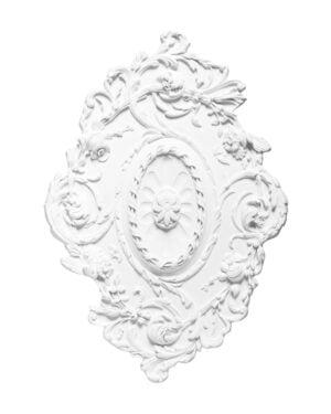 Orac Decor rozeta sufitowa owalna R22