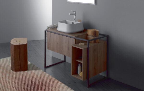 Simas Frame szafka łazienkowa FM1 Rovere Scuro