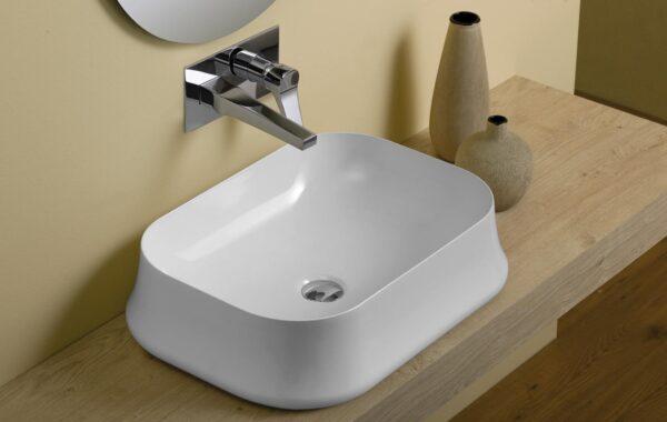 Simas Sharp umywalka nablatowa SH08