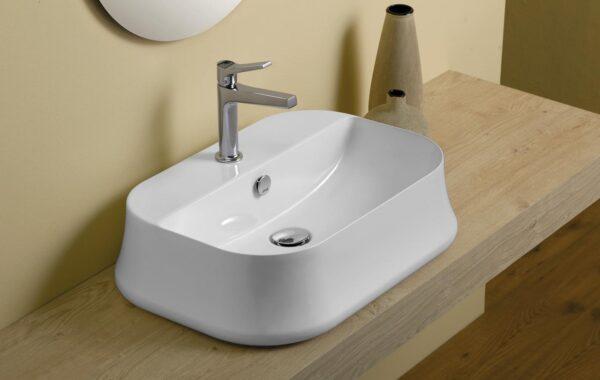 Simas Sharp umywalka nablatowa SH09