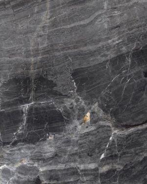 Supergres Purity of Marble Brecce Breccia Nera Rtt. Lux. 120x120 cm