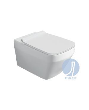 Miska WC Rimless + Deska Simas Baden Baden BB18/F85/BB004