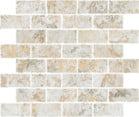 Mozaika ceramiczna Naxos Pictura Spaccatella Su Rete Frammenti Soft Rtt. 33,3X31,5 cm