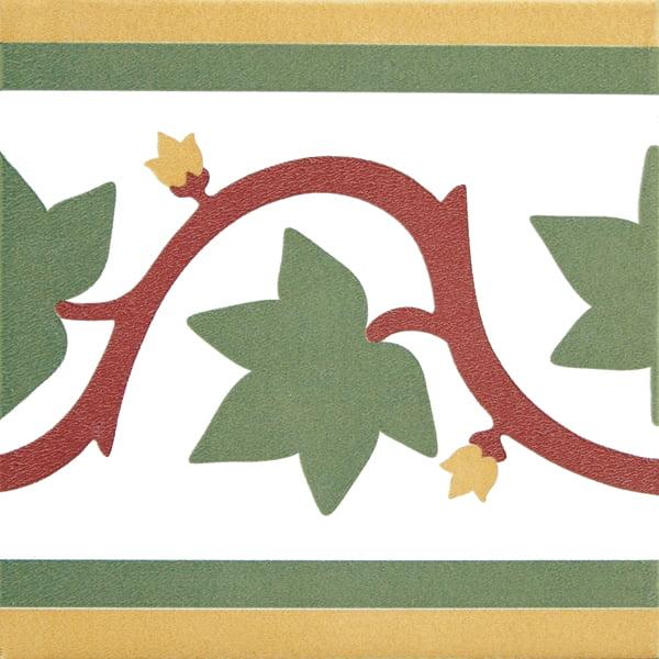 Płytka dekoracyjna Kerion Neocim Classic Faixa Branche 20x20 cm