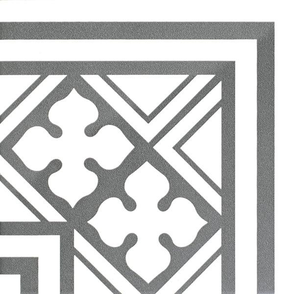 Płytka dekoracyjna Kerion Neocim Classic Canto B Graphite 20x20 cm
