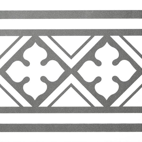 Płytka dekoracyjna Kerion Neocim Classic Faixa B Graphite 20x20 cm