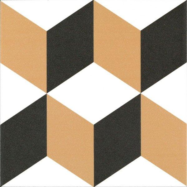 Płytka dekoracyjna Kerion Neocim Plus Decor Cubique Caramel 20x20 cm