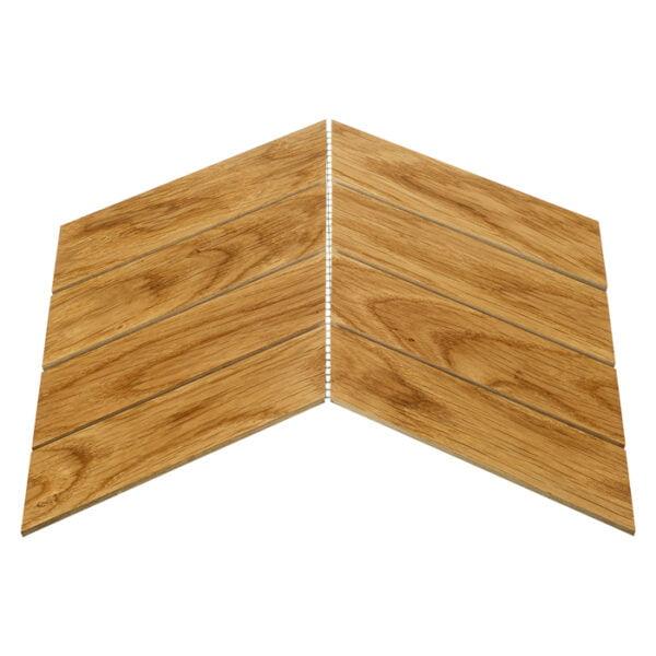 Mozaika drewniana Dunin Enik Chevron Oak