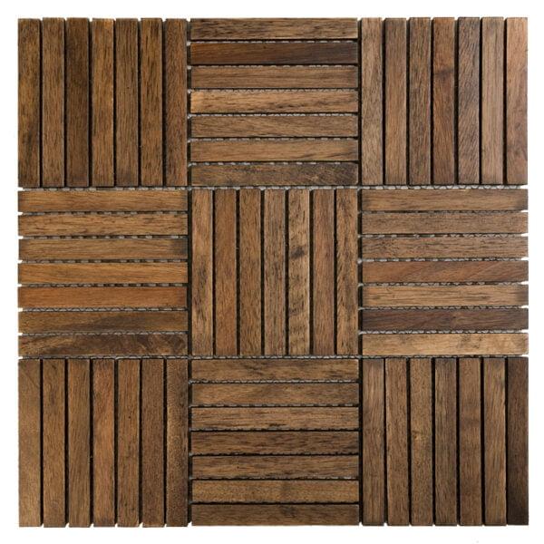 Mozaika Drewniana Dunin Entik hocolate Oak 110