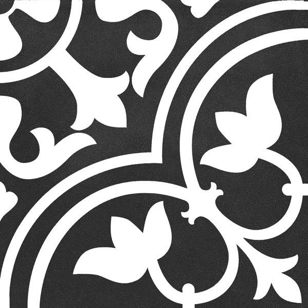 Płytka dekoracyjna Kerion Neocim Classic Decor D Noir N 20x20 cm