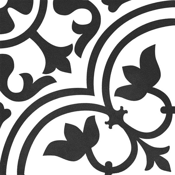 Płytka dekoracyjna Kerion Neocim Classic Decor D Noir 20x20 cm