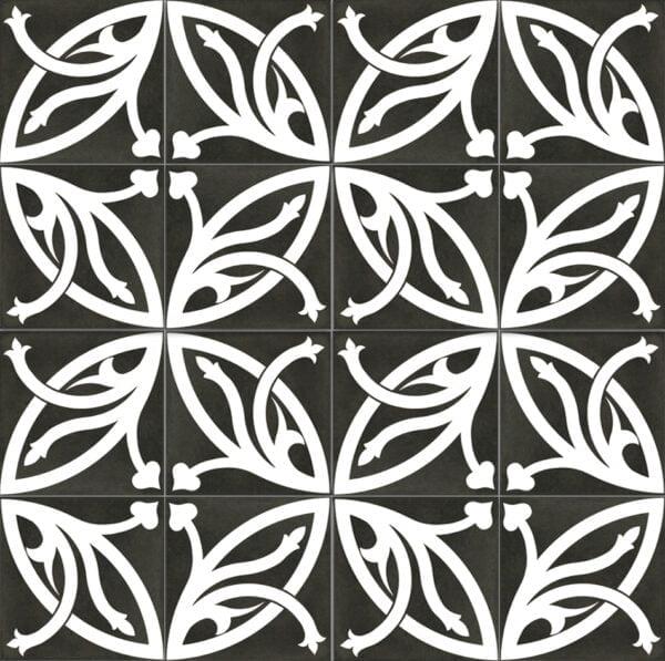 Płytka dekoracyjna Kerion Neocim Plus Decor Lis Plomb 20x20 cm