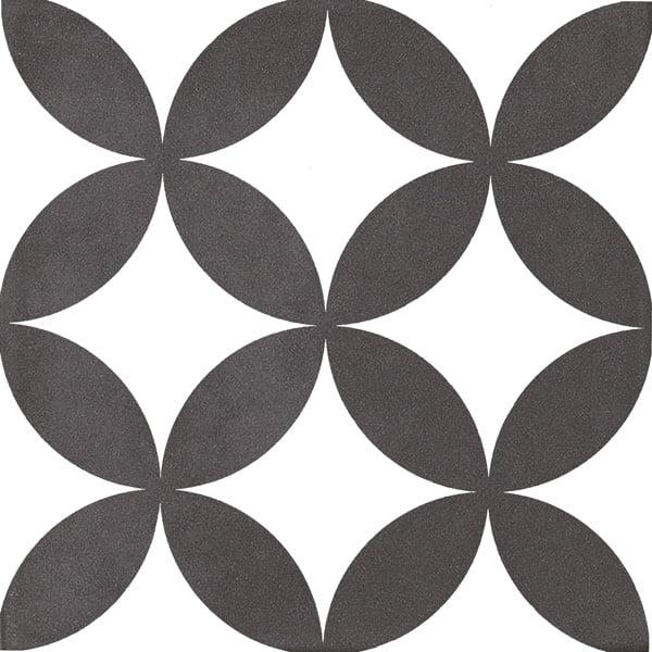 Płytka dekoracyjna Kerion Neocim Classic Decor Fleur Noir 20x20 cm