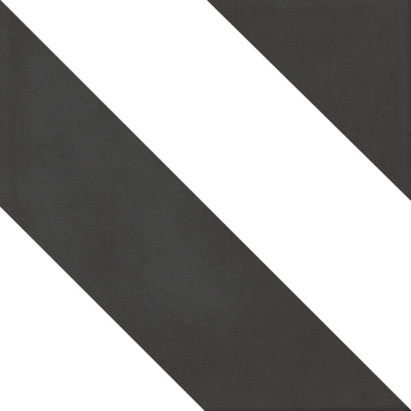 Płytka dekoracyjna Kerion Neocim Classic Decor Diago Noir 20x20 cm