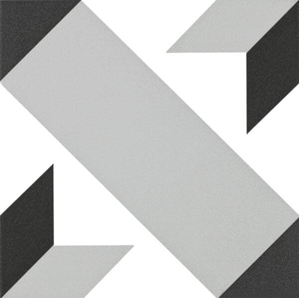 Płytka dekoracyjna Kerion Neocim Classic Decor Optique Titane 20x20 cm