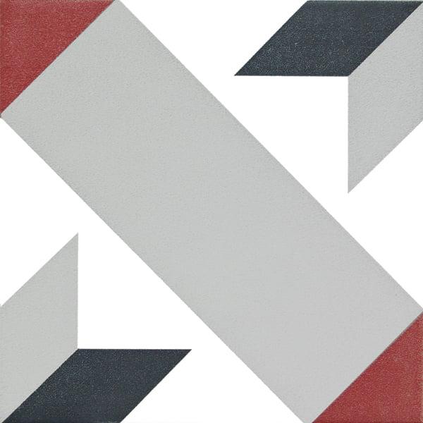 Płytka dekoracyjna Kerion Neocim Classic Decor Optique Framboise 20x20 cm