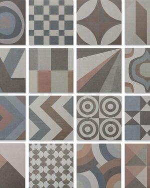 Płytka dekoracyjna Kerion Neocim Studio Patchwork S05 20x20 cm