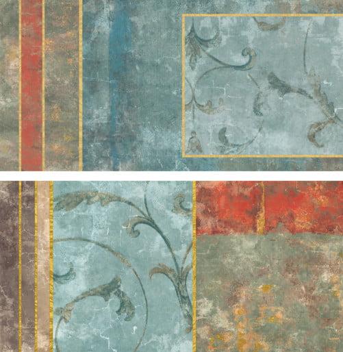 Płytka dekoracyjna Naxos Pictura Fascia Villae Soft Rtt. 60X120 cm