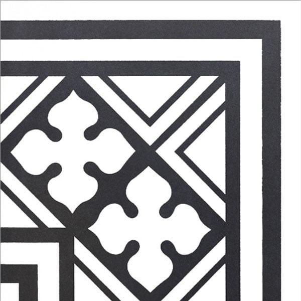 Płytka dekoracyjna Kerion Neocim Classic Canto B Noir 20x20 cm