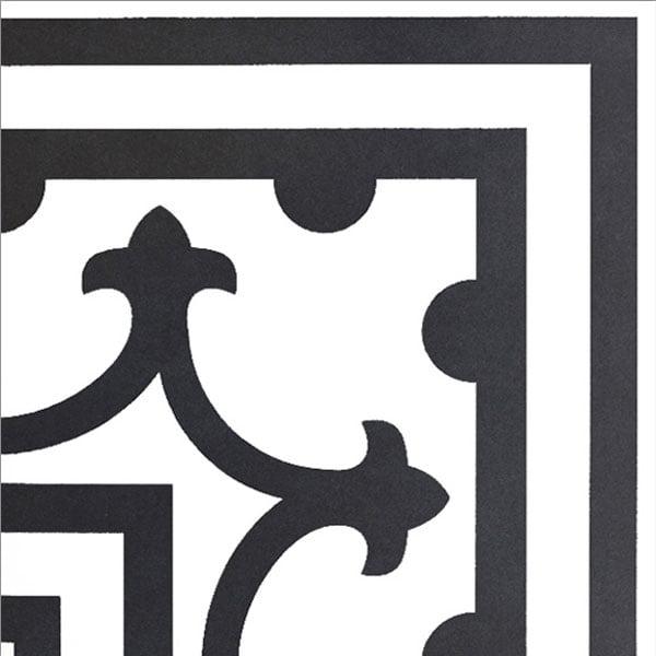 Płytka dekoracyjna Kerion Neocim Classic Canto C Noir 20x20 cm