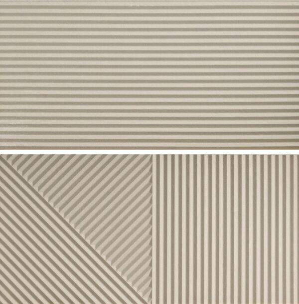 Płytka ścienna Fioranese Fio. Passepartout Avorio #2 Nat. Rtt. 30,2x60,4 cm