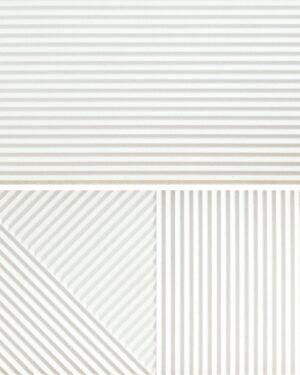 Płytka ścienna Fioranese Fio. Passepartout Bianco #2 Nat. Rtt. 30,2x60,4 cm